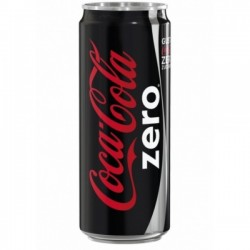 COCA COLA ZERO LATTINA CL. 33