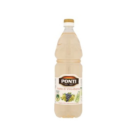 PONTI ACETO DI VINO BIANCO 1 lt acidità 6%