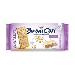 GALBUSERA BUONI COSI' cracker senza lieviti, con farina di mais e orzo