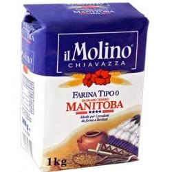 IL MOLINO CHIAVAZZA FARINA TIPO 0 Manitoba 1 kg