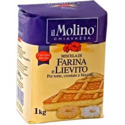 IL MOLINO CHIAVAZZA MISCELA DI FARINA E LIEVITO per dolci, crostate e biscotti