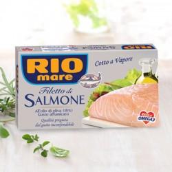 RIO MARE FILETTO DI SALMONE affumicato all'olio d'oliva
