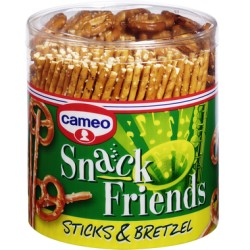CAMEO SNACK FRIENDS STICKS & BRETZEL salatini misti
