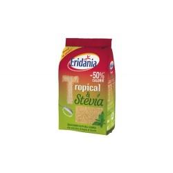 ERIDANIA TROPICAL E STEVIA zucchero di pura canna con estratto di foglie di stevia