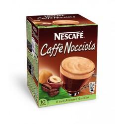 NESCAFE' CAFFE' NOCCIOLA SOLUBILE PER LATTE 10 buste