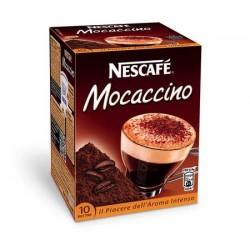 NESCAFE' CAFFE' MOCACCINO SOLUBILE 10 buste