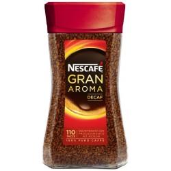 NESCAFE' GRAN AROMA CAFFE' SOLUBILE DECAFFEINATO barattolo 200 gr.