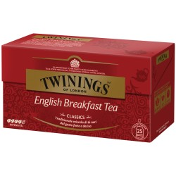 TWININGS ENGLISH BREAKFAST TE' 50 filtri