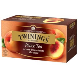 TWININGS PEACH TEA 20 filtri