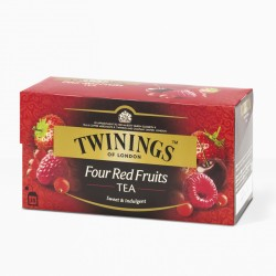 TWININGS FOUR RED FRUITS TEA 20 filtri