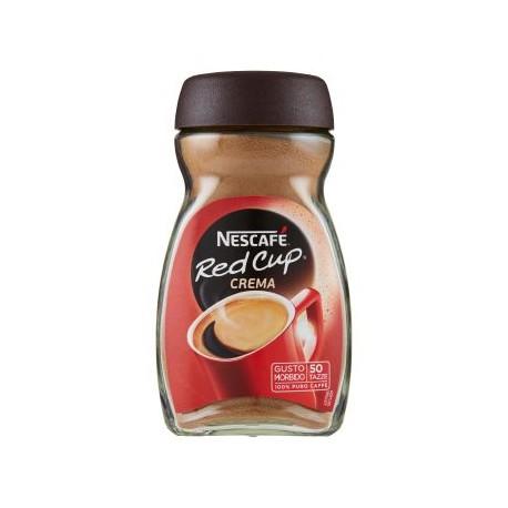 NESCAFE' RED CUP 100% VERO CAFFE' barattolo 200 gr.