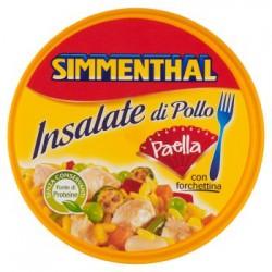 SIMMENTHAL Insalata di Pollo PAELLA con forchettina conf 220 gr