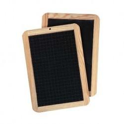 Lavagnetta GIOTTO Pret a porter in ardesia con cornice in legno cm 18X26CM