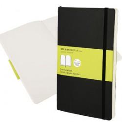 Taccuino Moleskine Large 13x21cm 240 pg Bianco copertina morbida c/elastico nera