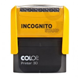Timbro Printer 30 Incognito Stamp Autoinchiostrante Colop