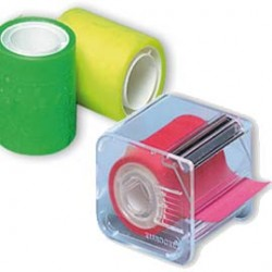 Nastro Adesivo Memograph C/Dispenser 50mmx10mt Giallo