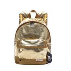 Backpack Small Fantasia Lame' Oro Superga