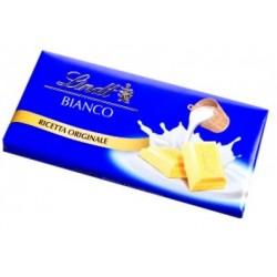 LINDT tavoletta di cioccolata BIANCO 100 gr