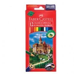 Astuccio 12 Pastelli Colorati Faber Castell