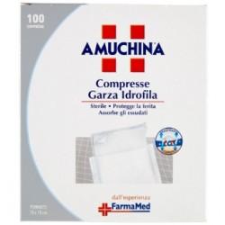 Amuchina 100 Compresse Garza Idrofila Formato 10 x 10 cm