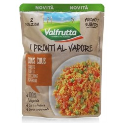 I Pronti al Vapore COUS COUS ALLE VERDURE VALFRUTTA 2 porzioni