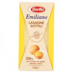 Lasagne Sottili Barilla Emiliane Pasta all'uovo