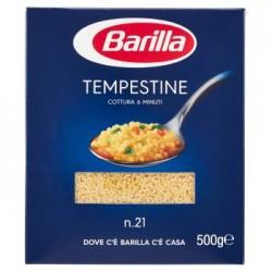 Barilla le Tempestine N.21 500 gr Pasta Di Semola Di Grano Duro