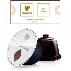 16 Capsule Caffè Lollo Miscella Oro Compatibili Nescafè Dolce Gusto