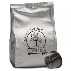 64 Capsule Caffè Sovrano Miscela Crema Bar Compatibili Dolce Gusto