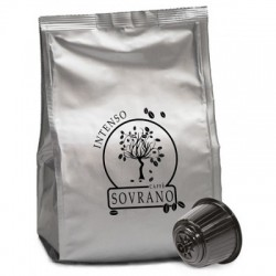 64 Capsule Caffè Sovrano Miscela Intenso Compatibili Dolce Gusto