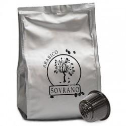 64 Capsule Caffè Sovrano Miscela ARABICA Compatibili Dolce Gusto