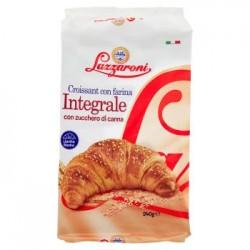 Lazzaroni 6 Croissant Con Farina Integrale E Zucchero Di Canna