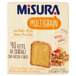 Misura Multigrain 40 Fette Ai Cereali Con Fiocchi D'Orzo