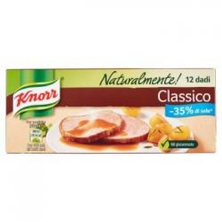 Knorr Naturalmente 10+2 Dadi Gusto Classico Meno 35% di Sale No Glutammato