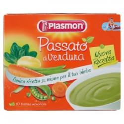 Plasmon Passato di Verdura 10 Bustine Monodose Senza Glutine
