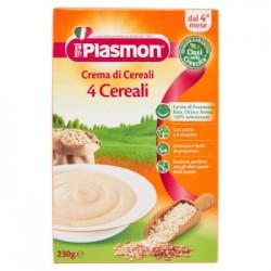 Plasmon Crema Di 4 Cereali Dai 4 Mesi