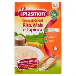 Plasmon Crema di Riso Mais e Tapioca Senza Glutine e Subito Pronta