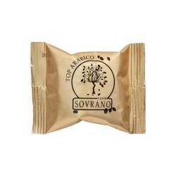 CAFFE' SOVRANO 100 Capsule TOP ARABICO COMPATIBILI UNO SYSTEM KIMBO ILLY
