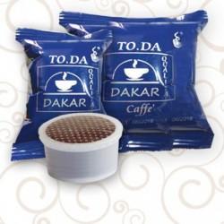 100 Capsule Caffe' Toda Gattopardo Miscela Dakar Compatibili Sistema Lavazza Espresso Point