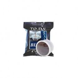 100 Capsule Caffe' Toda Gattopardo Miscela Blu Compatibili Sistema Lavazza Espresso Point
