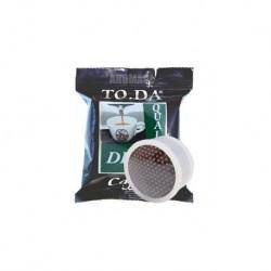100 Capsule Caffe' Toda Gattopardo Miscela Dek Compatibili Sistema Lavazza Espresso Point