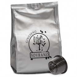 16 Caffe' Sovrano Ginseng Compatibili Nescafe' Dolce Gusto