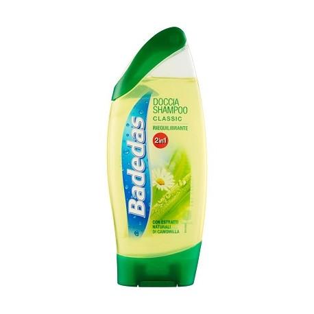 BADEDAS Doccia Shampoo 2in1 riequilibrante Con Estratti Naturali Di Camomilla 250 ML