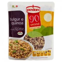 Pedon Bulgur e Quinoa Cotti Al Vapore con Olio Extra vergine di Oliva