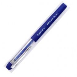 12 Penne Roller Ball 0.7mm Blu Grip Faber Castell