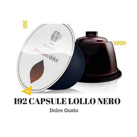192 Capsule Caffè Lollo miscela NERO compatibil Nestlè Dolce Gusto