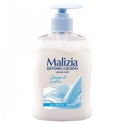 Malizia Sapone Liquido Nutriente Crema Di Latte 300 ML