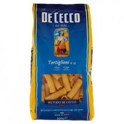 De Cecco Tortiglioni n. 23 Pasta di Semola di Grano Duro 500 g