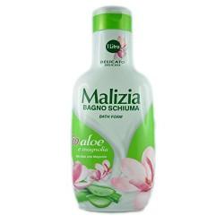 Malizia Bagnoschiuma Bio Aloe E Magnolia 1000 Ml