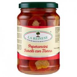 La Reinese Peperoncini Farciti al Tonno 340 g